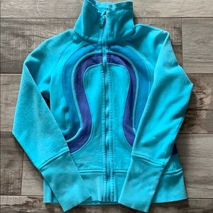 Blue lulu lemon sweater